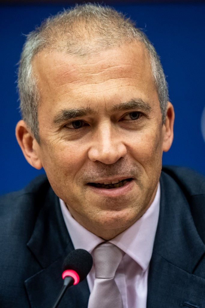 BELGIUM , BRUSSELS , NOV. 20, 2018 - GLOBE EU High Level Conference - Missing Links in the Evolution of Sustainable Finance - Andreas Utermann Copyright Danny Gys