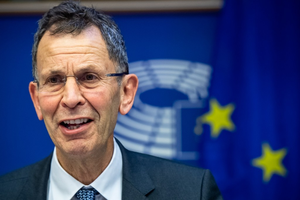 BELGIUM , BRUSSELS , NOV. 20, 2018 - GLOBE EU High Level Conference - Missing Links in the Evolution of Sustainable Finance - Paul Druckman Copyright Danny Gys
