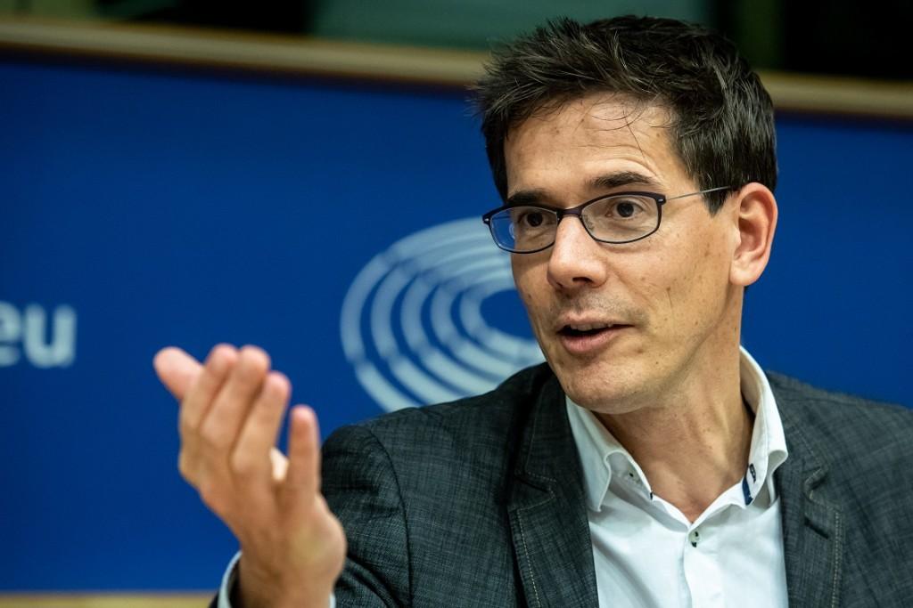 BELGIUM , BRUSSELS , NOV. 20, 2018 - GLOBE EU High Level Conference - Bas Eickhout Copyright Danny Gys