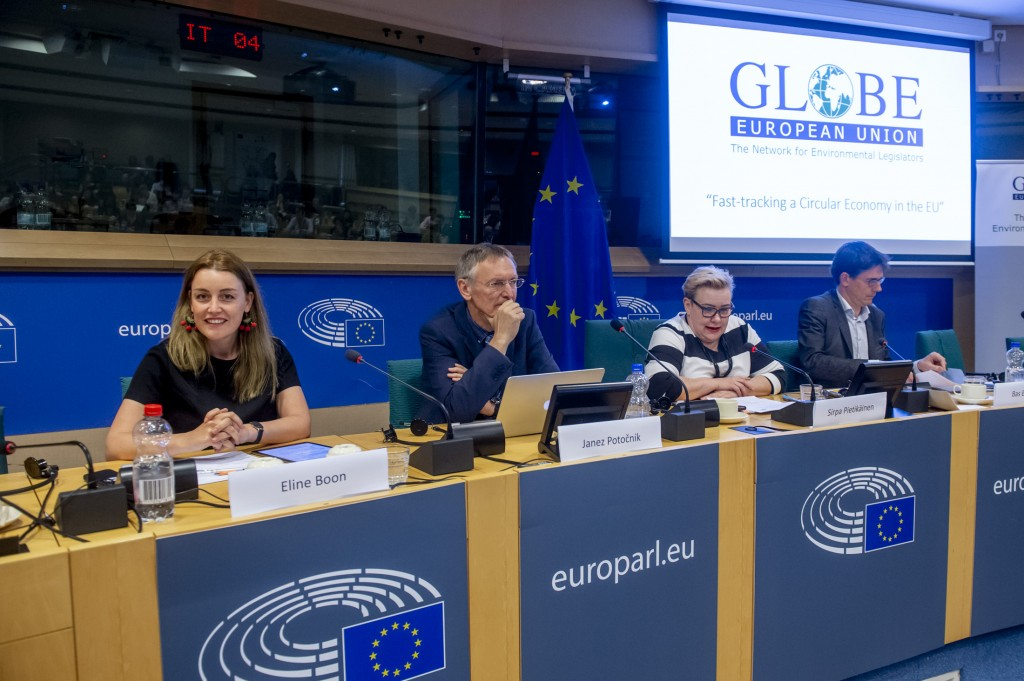 """Globe EU conference on """"Fast-tracking a Circular Economy in the EU"""" at the EP in Brussels"""