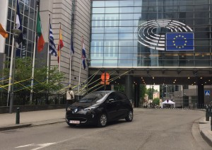 Globe EU Event - Test drive ZOE 2